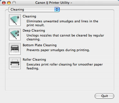 IJ Printer Utility