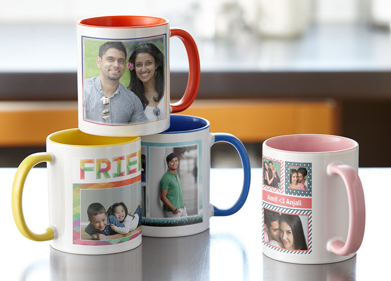 Print your photo on coffee mugs at home with a picture