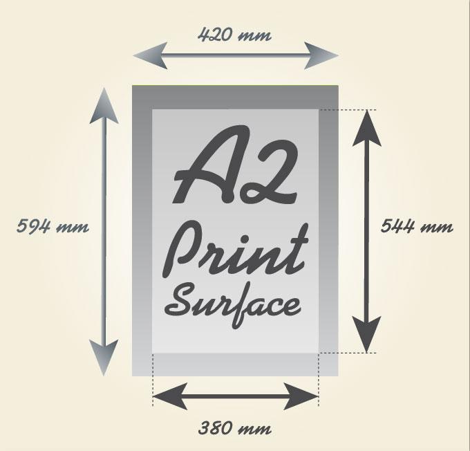 A2, A3 & A4 Paper Sizes